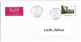 Enveloppe Parthenay 2012 - Le Millénaire - 05-02-2012 - Lettres & Documents