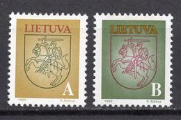 1993 - LITUANIA - LITHUANIA - LITUANIE - LITAUEN -  Mi. Nr. 531/532 - MINT - (0120.7) - Lituania