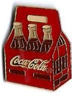 C21 - Caisse 6 Bouteilles COCA COLA - Verso : 1989 T.C.C./Fabriqué à TAIWAN - Coca-Cola