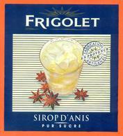 étiquette De Sirop D'anis Pur Sucre Frigolet - 100 Cl - Fruits & Vegetables