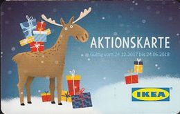 GERMANY Gift-card  IKEA - Christmas 2017 - 2 Cards - Gift Cards
