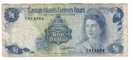 Cayman 1 Dollar 1974 - Cayman Islands