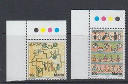 Europa Cept 2006 Malta 2v (corner, Traffic Lights)  ** Mnh (40499) - Europa-CEPT