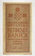 Croazia Croacia Croatia 50 Banica (1/2 Kuna) 1942  LOTTO 2323 - Croacia