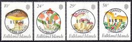 FALKLAND ISLANDS  Michel  468/71  Very Fine Used - Falkland
