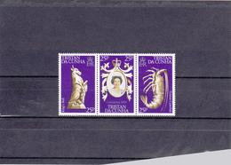 Tristan Da Cunha Neuf **  1978   N° 233/235  25e Anniversaire Couronnement D'Elisabeth II - Samoa