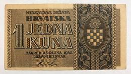 Croazia Croacia Croatia 50 1 Kuna 1942  LOTTO 2322 - Croatia