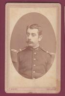 120918 - PHOTO CDV MILITARIA GUERRE - ROUMANIE F MANDY BUCURESCI - - Guerra, Militares