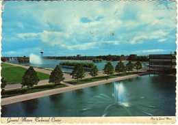General Motors Technical Center,Warren,Michigan,U.S.postcard Via Yugoslavia - Warren