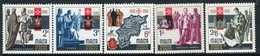 Malta Complete Set Of Stamps To Celebrate 400th Anniversary Of Valletta 1966. - Malta