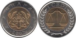 GH (c) - 2007 - 1 Cedi (TTB/VF/SS) - Ghana