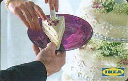 Schweden Gift-card  IKEA - Cake - Gift Cards
