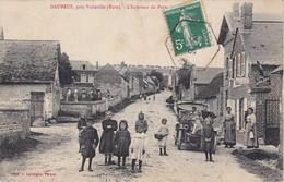 DAUBEUF - Près Vatteville - L'Intérieur Du Pays - La Poste - Voiture Ancienne - Animé - Belle Carte RARE - France