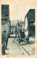 HAUT RHIN 68.SAINT ST HIPPOLYTE ENTREE DE LA GRAND RUE - Francia