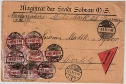 1922, Oberschlesien, NN- Bf., #a994 - Deutschland
