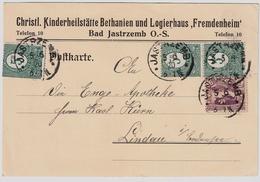 "1920, Selt. Stp. "" Jastrzemb ""   , #a996 - Deutschland"