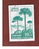 CILE (CHILE)  - SG 583 -  1967  NATIONAL AFFORESTATION  -  USED ° - Cile