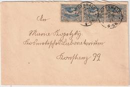 """1921, Seltener Stp.  """" Schönwald (Kr. Glewitz) """" , #a998 - Deutschland"""