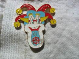 Pin's De La  61 édition Du Carnaval De Mulhouse En 2014. La Nef Des Fous - Badges