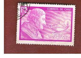 CILE (CHILE)  - SG 597 -  1968 J. I. MOLINA -  USED ° - Cile
