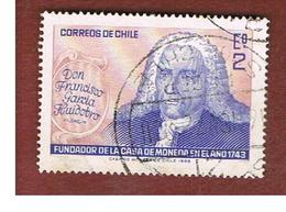 CILE (CHILE)  - SG 608 -  1968 225^ ANNIV. CHILEAN MINT: F. G. HUIDOBRO     -  USED ° - Cile