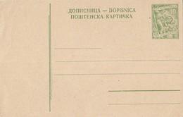 Yugoslavia - Unused Stationery - Ganzsachen