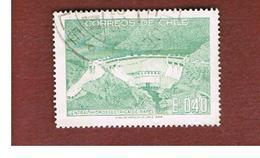 CILE (CHILE)  - SG 617 -  1969  RAPEL DAM    -  USED ° - Cile