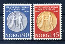 1959 NORVEGIA SET MNH ** - Norvegia