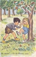 Germaine Bouret. Illustrateur. Enfants Old Postcard  M.S. Paris No. 755    1962 - Bouret, Germaine
