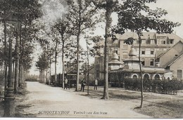 Schootenhof. Vertrek Van Den Tram - Belgique
