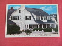 - Summer Home Of Robert F. Kennedy  Hyannis Port      Massachusetts > Cape Cod Ref 3068 - Cape Cod