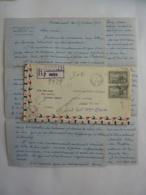 LETTRE RECOMMANDE PAR AVION CANADA -PARIS Cachet à Date PLACE  D'ARMES MONTREAL (ERINNOPHILIE)  Clas 4 - Covers & Documents