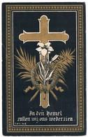Dp. De Sutter Marie-Therese. Echtg. Cauwels Bernard. ° Lembeke 1852 † Lembeke 1898 (2 Scan's) - Religione & Esoterismo