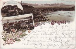 2104  31Bregenz, Gruss Aus 1898 (leichte Falte Links) - Bregenz
