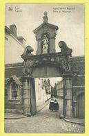 * Lier - Lierre (Antwerpen - Anvers) * (Nels, Edition A. Van Dyck) Ingang Begijnhof, Entrée Du Béguinage, Nun, Rare - Lier