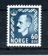 1950 NORVEGIA N.330b MNH ** - Norvegia