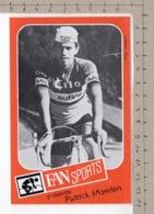 FAN Sport Présente Patrick Moerlen ° Autocollant / Adesivi / Aufkleber / Stickers - Autocollants