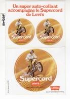 Supercord - Levi's ° Autocollant / Adesivi / Aufkleber / Stickers - Autocollants