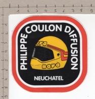Philippe Coulon Diffusion - Neuchâtel ° Autocollant / Adesivi / Aufkleber / Stickers - Autocollants