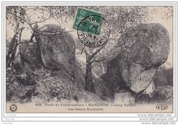 77)  Forêt De Fontainebleau - Marlotte - Long Rocher - Les Soeurs Ennemies - Fontainebleau