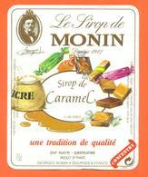 étiquette + Etiq De Dos De Sirop De Caramel Monin à Bourges - 70 Cl - Fruits & Vegetables