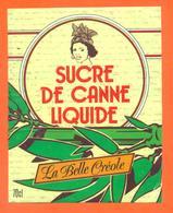 étiquette + Etiq De Dos De Sirop De Canne Liquide La Belle Créole Ets Chevalier à Dampierre Sur Salon- 70 Cl - Fruits & Vegetables