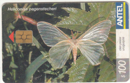 URUGUAY - Butterfly, Heliconisa Pagenstecheri(293a), 09/03, Used - Uruguay