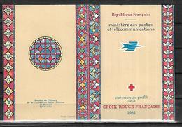 France Croix - Rouge   1961   CAT YT CARNET  N ° 2010 , N**    MNH - Croix Rouge