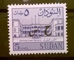 FRANCOBOLLI STAMPS SUDAN 1962 MNH** NUOVO PALAZZO REPUBBLICANO - Sudan (1954-...)