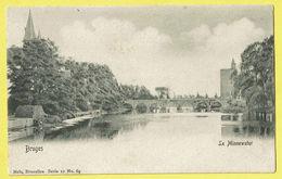 * Brugge - Bruges (West Vlaanderen) * (Nels, Série 12, Nr 69) Le Minnewater, Lac D'amour, Pont, Tour, Vestingen, Rare - Brugge