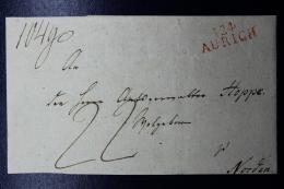 Deutschland / Hannover: I24 AURICH -> Norden Umschlag   Französische Periode - Hanovre