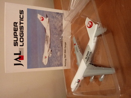 Herpa 1:500 JAL Super Logistics - Boeing 747-200 Cargo (with Original Packing Box) - Airplanes & Helicopters