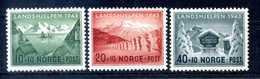 1943 NORVEGIA SET MNH ** - Norvegia