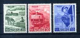 1954 NORVEGIA SET MNH ** - Norvegia